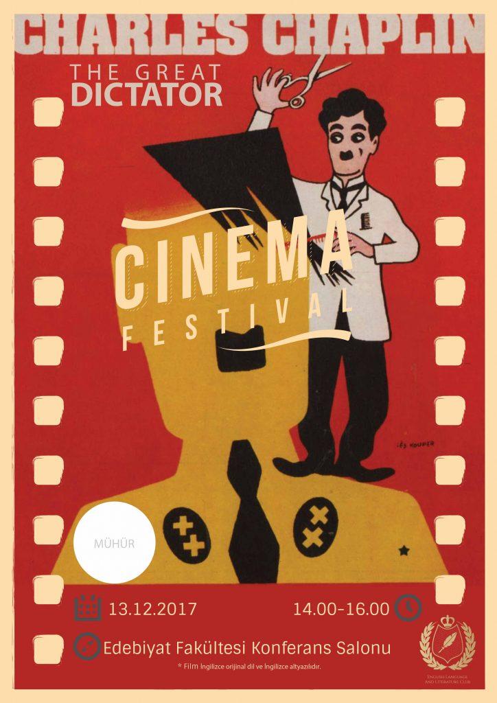 Charlie Chaplin – The Great Dictator filminin gösterimi yapıldı