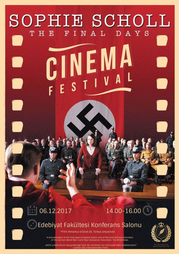 Sophie Scholl – The Final Days filminin gösterimi yapıldı